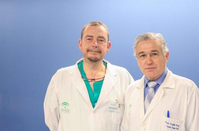 Doctores del hospital Virgen del Rocío