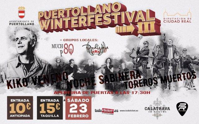 Puertollano Winter Festival Cartel
