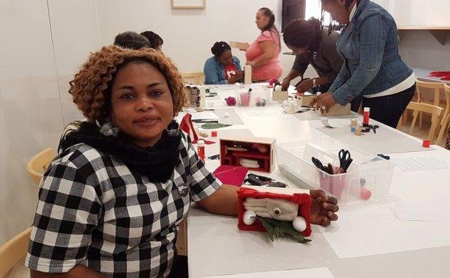Un taller en el Museo Picasso