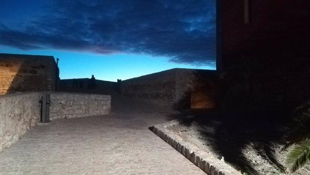Falta de iluminación en la Catedral de Ibiza
