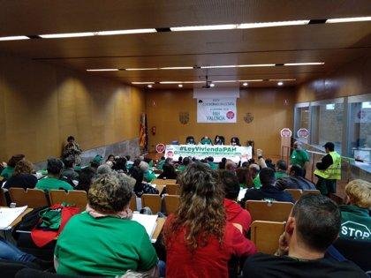 """La PAH prepara """"grandes movilizaciones"""" en todo el Estado para reivindicar el derecho """"transversal"""" a la vivienda"""