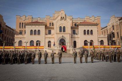 L'Exèrcit celebra la Inmaculada Concepción en la caserna del Bruc de Barcelona