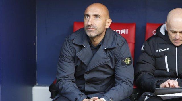 El entrenador del Alavés, Abelardo Fernández