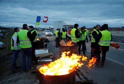 """Las provincias francesas también secundan las movilizaciones de los """"chalecos amarillos"""""""