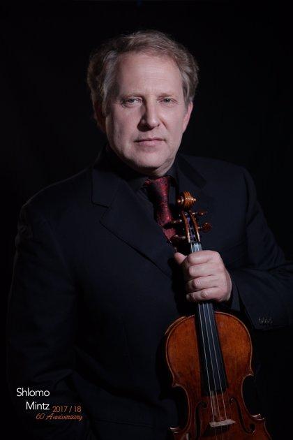 El violinista Shlomo Mintz ofrecerá un recital en el Palacio de Festivales
