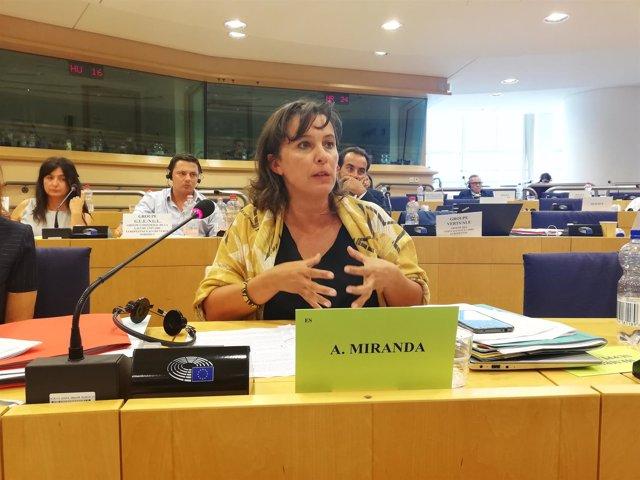 Ana Miranda, eurodiputada del BNG