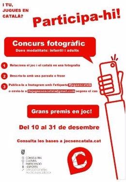Campanya 'I la teva, jugues en català?'