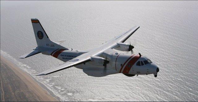 El avión ' Sasemar 101' de Salvamento Marítimo