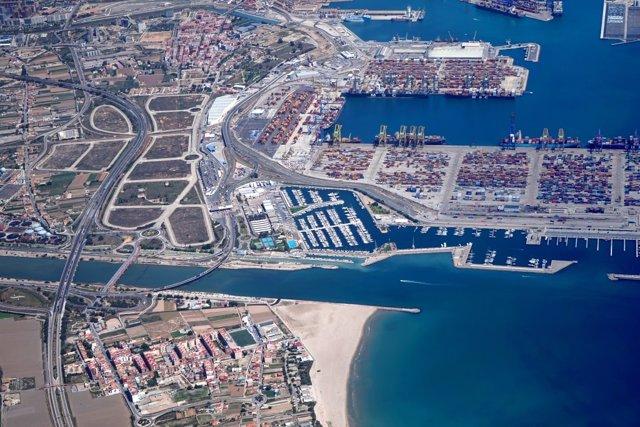 Area de la ZAL de València