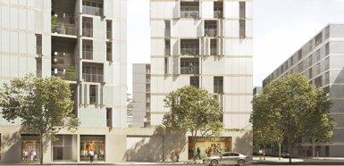 L'Ajuntament de Barcelona licita les obres de 176 habitatges a Gràcia, Sant Martí i Sants (AYUNTAMIENTO DE BARCELONA)