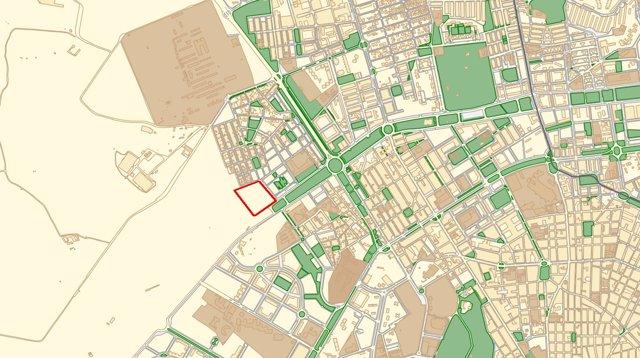 Parcela para la comisaría de la Guardia Civil en Alicante