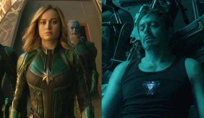 Endgame: ¿Salvará Capitana Marvel a Tony Stark en Vengadores 4?