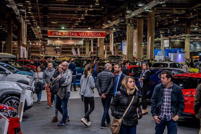 Interior de la Feria del Automóvil de València 2018