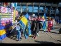 Comienza sin incidentes la final de la Copa Libertadores en el estadio Santiago Bernabéu