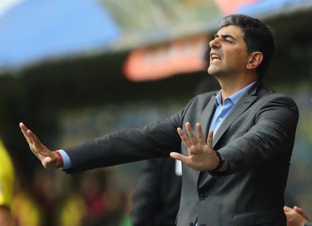 Matías Biscay, entrenador ayudante de River Plate