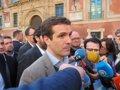 CASADO RECLAMA AL GOBIERNO LA APLICACION INMEDIATA DEL 155 EN CATALUNA DESPUES DE QUE TORRA APELARA A LA VIA ESLOVENA