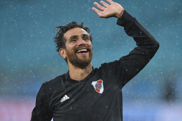 El capitán de River Plate, Leonardo Ponzio