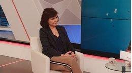Carmen Calvo, entrevistada en Canal Sur Televisión