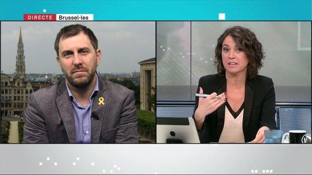 Toni Comín en TV3