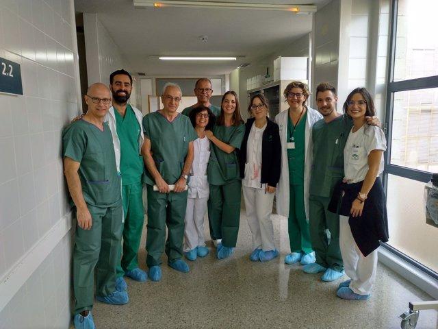 Equipo de unidad mental del hospital Juan Ramón Jiménez de Huelva.