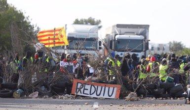 Un portaveu sindical dels Mossos assegura que la Generalitat no va ordenar actuar davant dels talls dels CDR a l'AP7 (CDR)