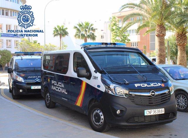 Vehículos de Policía Nacional