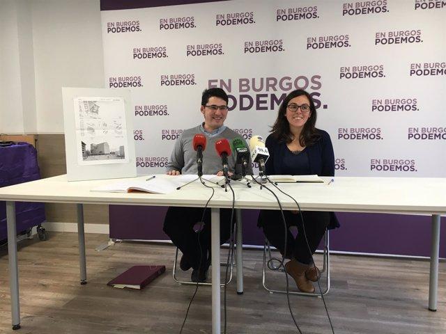 Raúl Salinero y Laura Domínguez