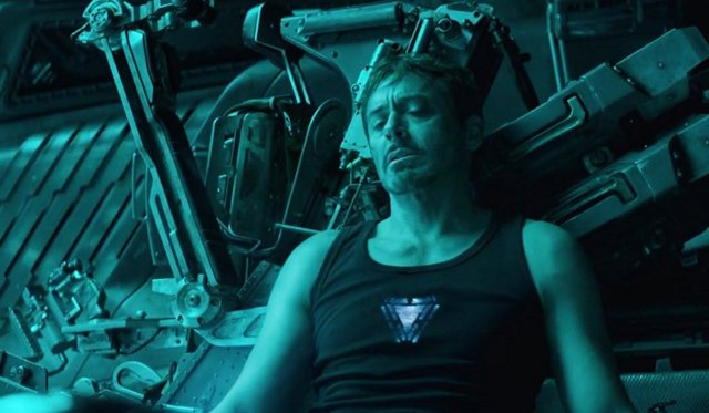 Tony Stark (Iron Man) en Vengadores: Endgame