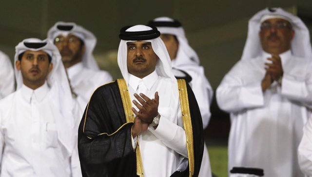 El jeque Tamim bin Hamad al Thani, emir de Qatar