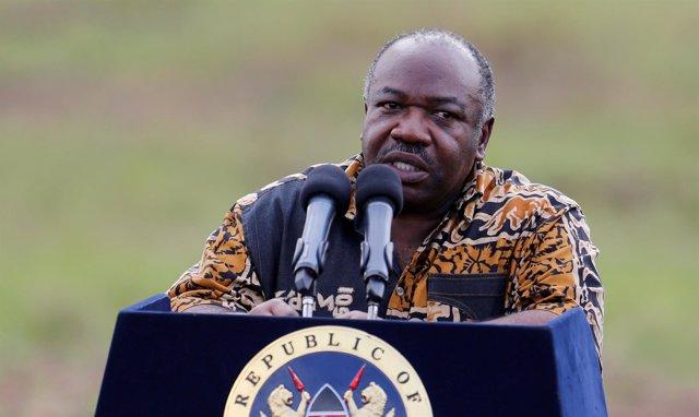 El presidente de Gabón, Alí Bongo