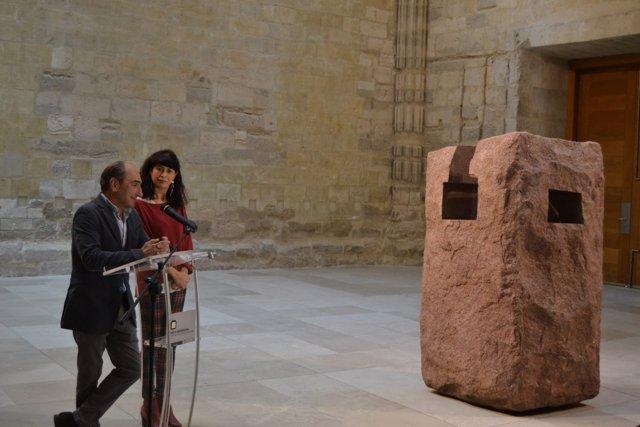 Valladolid.- Presentación de las exposiciones sobre Chillida y Guillén