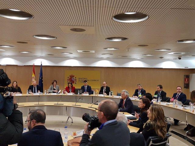Soro ha asistido hoy a la reunión del Consejo Español de Turismo en Madrid