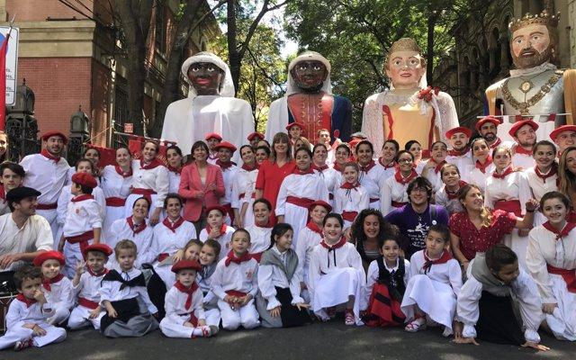 Actos culturales y deportivos cierran el viaje de la delegación navarra a Argentina