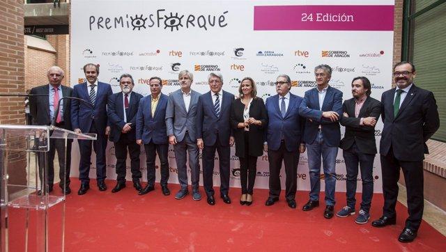 Presentación de los Premios Forqué en Feria de Zaragoza