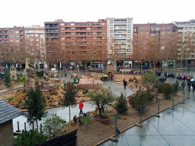 Belén Monumental de la Plaza del Ayuntamiento