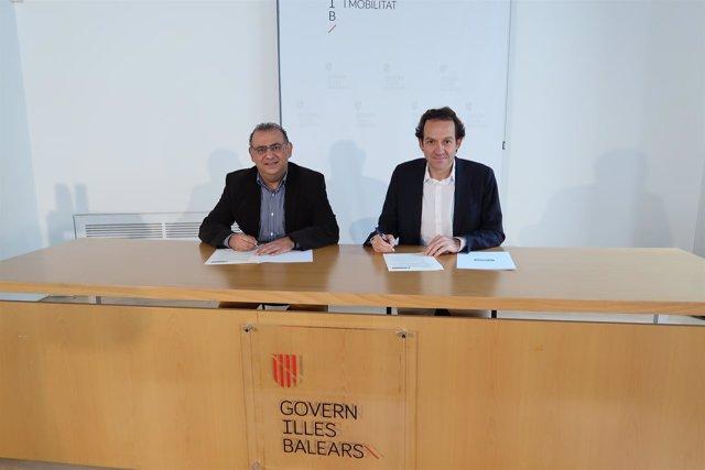 Alfonso Rodríguez y Marc Pons firman el convenio para construir 48 VPO