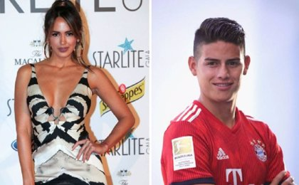 Las imágenes que confirmarían la relación entre James Rodríguez y la modelo venezolana Shannon de Lima