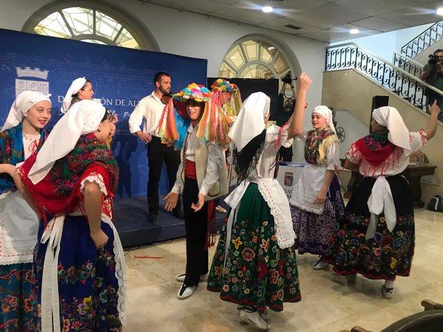 La Cuadrilla de Vélez Rubio integra a personas desde los tres a los 99 años.