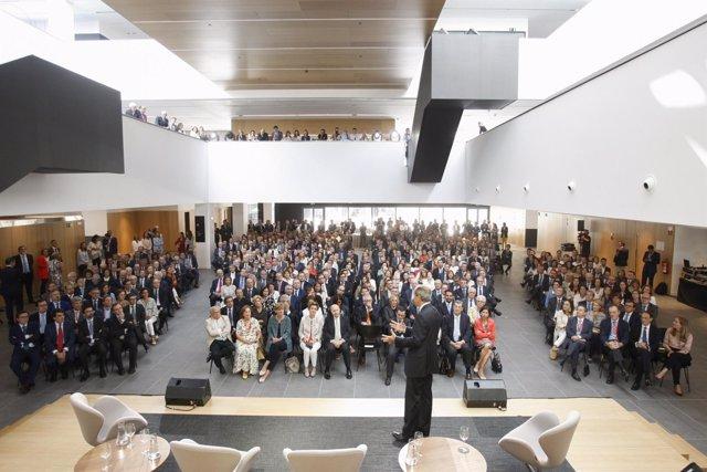 Inauguración del campus de la Universidad de Navarra en Madrid