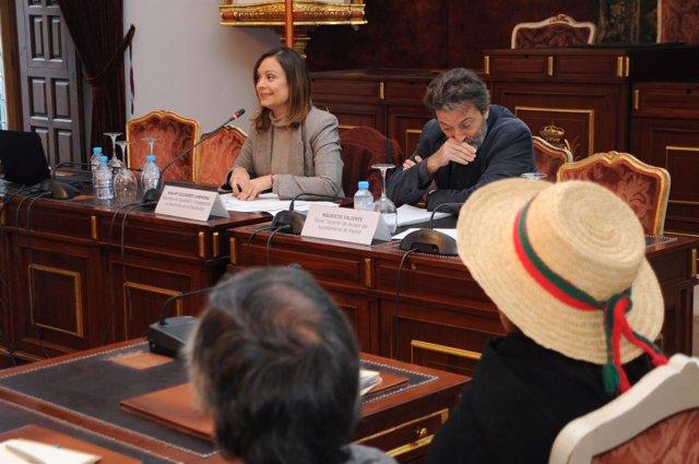 Guijarro, durante la inauguración del encuentro