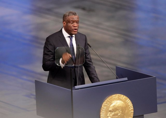 El Nobel de la Paz Denis Mukwege