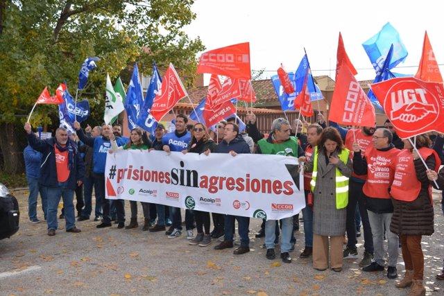 Huelga de funcionarios de prisiones