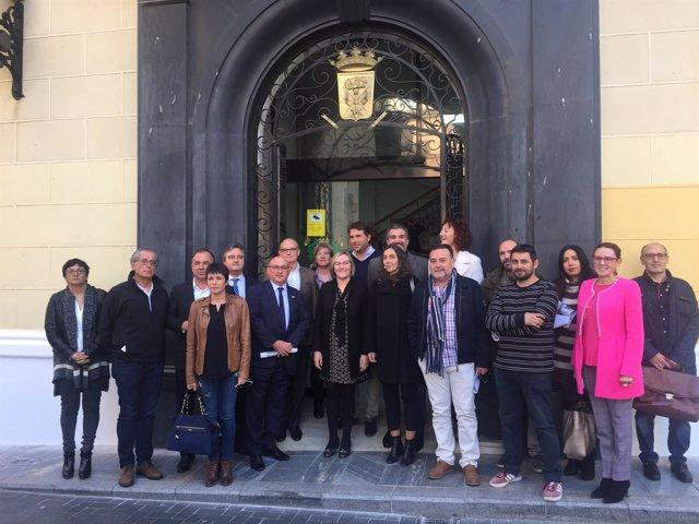 La consellera María José Salvador presenta el PAT Vega Baja