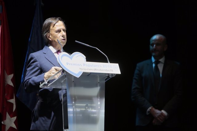 El alcalde de Alcobendas, Ignacio García de Vinuesa