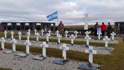 Identifican al soldado argentino 106 caído en la guerra de las Malvinas
