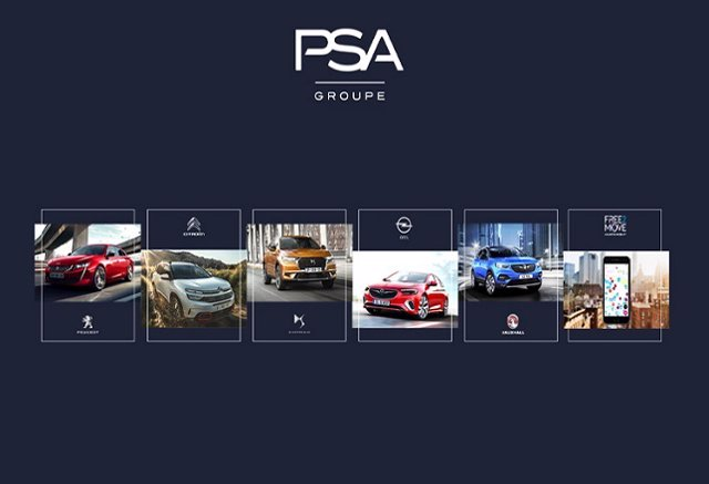Marcas del Grupo PSA