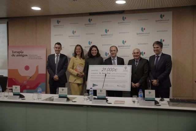 Quirónsalud beca un proyecto para predecir las recaídas en cáncer de mama