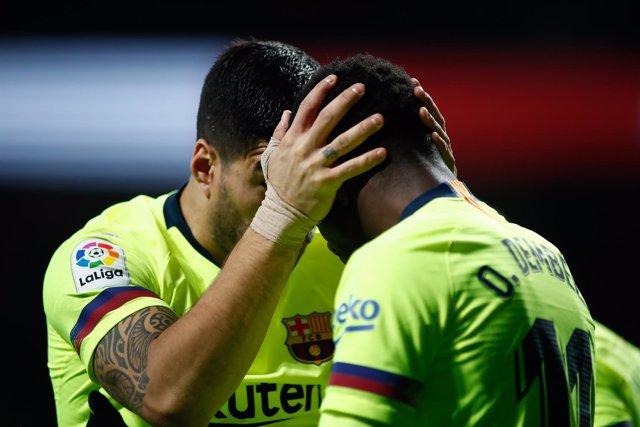 Soccer: La Liga - Atletico de Madrid v FC Barcelona