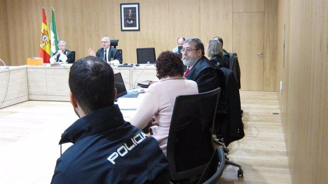 Juicio a la acusada del asesinato de la Fuenseca