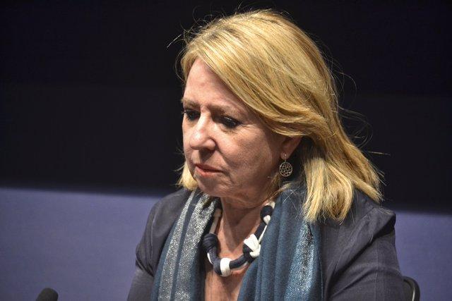 La periodista Alicia Gómez Montano